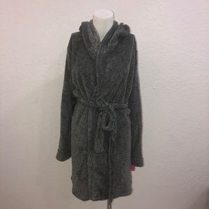 Womens Robe Gray